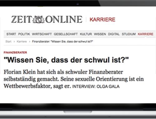 Mein Interview mit ZEIT Online